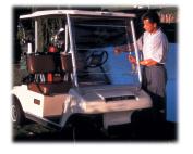 Greenline EEV-WS1 Weathershield- Golf Cart Windshield