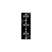 Me & My Big Ideas Rhinestone Word and Icon Stickers, Cross/Crystal