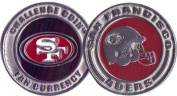 Brybelly Holdings NFL-3201 Challenge Coin Card Guard - San Francisco 49ers