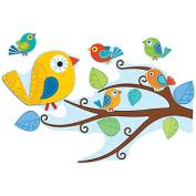 Carson-Dellosa Publishing Boho Birds Bulletin Board Set 81 Pieces/Kit