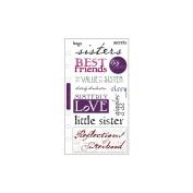 Sticko SPPCC-39 Sticko Phrase Cafe Stickers-Sisterly Love