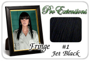 Brybelly Holdings PRFR-1 No. 1 Jet Black Pro Fringe Clip In Bangs