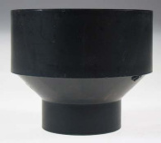 Genova Products 7.6cm . X 1-.127cm . ABS-DWV Reducing Couplings 80131