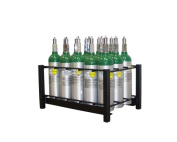Responsive Respiratory 15 Cyl M6 Rack - 150-0330
