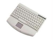 Adesso Mini White PS/2 Keyboard with Glidepoint Touchpad