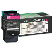 Lexmark C544X1MG Extra High-Yield Toner 4000 Page-Yield Magenta