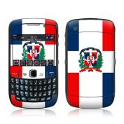DecalGirl BBC5-FLAG-DOMREP BlackBerry Curve 8500 Skin - Dominican Republic Flag