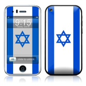 DecalGirl AIP3-FLAG-ISRAEL iPhone 3G Skin - Israel Flag