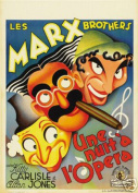 Hot Stuff Enterprise 7767-12x18-LM A Night at The Opera Marx Brothers Poster