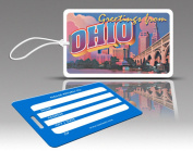 Insight Design 770734 TagCrazy Luggage Tags- Ohio- Set of Three