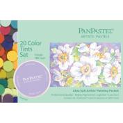 PanPastel Ultra Soft Artist Pastel Set 9ml 20/Pkg-Tints Set