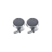 Visol VCUFF613 Cameron Stainless Steel Cufflinks