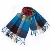 Blancho Bedding Pa-a09-5 Moon & Stars & Roses Elegant Fashion Smooth Touch Tassel Ends Pashmina/Shawl/Scarf