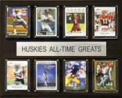 C & I Collectables 1215WASHATG NCAA Football Washington Huskies All-Time Greats Plaque