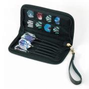 GLD Casemaster 36-0802-01 Deluxe Black Nylon Dart Case