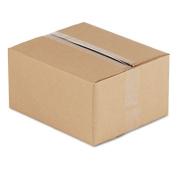 Universal 670999 Corrugated Kraft Shipping Carton 10w x 12l x 6h 25 per Bundle Brown