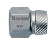 Hanson HAN53205 .63.5cm . Hex Head Multi-Spline Screw Extractor