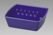 Gessner Products IW-351-BL Square Ashtray - 10.8cm . x 9.5cm .- Case of 12