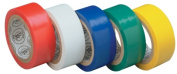 Gardner Bender GTPR-575 .190.5cm . X 3.66m Assorted Colours Electrical Tape