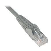 Tripplite N201-020-GY 20 ft. Cat6 Gigabit Snagless Moulded Patch Cable RJ45 M/M - Grey