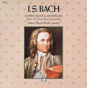 Bach -- Inventions & Sinfonias  : Two- & Three-Part Inventions, Comb Bound Book