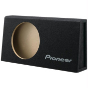 Pioneer UD-SW100T Shallow Series Subwoofer Enclosure - 10 in.; Behind The Seat