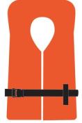Kwik Tek Sportsstuff 10000-02-A-OR Keyhole Vests