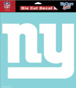 Caseys Distributing 3208525653 New York Giants Die-Cut Decal- 20cm . x 20cm . White
