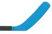 Olympia Sports HO180P Replacement Hockey Stick Blade - Blue