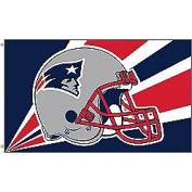 Fremont Die- Inc. 94211B 0.9m x 1.5m Flag W/Grommetts - New England Patriots