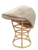 Nirvanna Designs CH513 Babu Ram Hat with Fleece Lining - Oatmeal