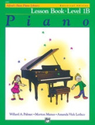 Alfred 00-6490 Basic Piano Course- Universal Edition Lesson Book 1B - Music Book