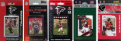 C & I Collectables FALCONS5TS NFL Atlanta Falcons 5 Different Licenced Trading Card Team Sets