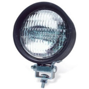 RoadPro RP-5401 4 Round Sealed Light - Clear Black Housing