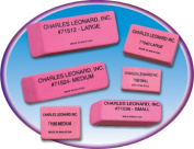 Charles Leonard CHL71504 24 per Box Synthetic Wedge Erasers Med