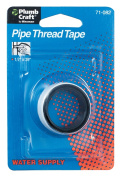 Waxman Consumer Products Group .127cm . X 76.2cm . Pipe Thread Tape 7108200N