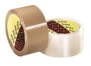 3M Industrial 405-021200-14105 Scotch Box Sealing Tape371 Tan 48Mm X 50M