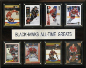 C & I Collectables 1215BHAWKSATG NHL Chicago Blackhawks All-Time Greats