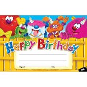 Trend Enterprises Inc. T-81042 Happy Birthday Furry Friends Recognition Awards