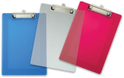 Officemate International Corp 83007 23cm . X 32cm . Assorted Plastic Clipboard - Case of 12