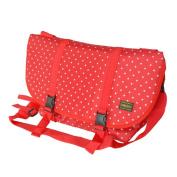 Blancho Bedding MB-L8028-RED Lucky Star - Red Multi-Purposes Messenger Bag / Shoulder Bag