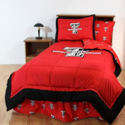 College Covers TTUBBQU Texas Tech Bed in a Bag Queen- With Team Coloured Sheets