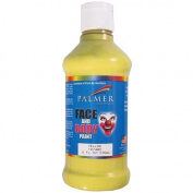 Palmer 490560 Face Paint 8 Ounces-Yellow
