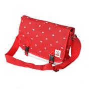 Blancho Bedding MB-SM946-RED Business Casual - Red Multi-Purposes Messenger Bag / Shoulder Bag