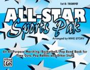 Alfred 00-MBF9508 All-Star Sports Pak - Music Book