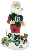 Oakland Raiders Santa Claus Forever Collectibles Bobble Head