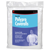 Buffalo Industries Large Disposable Polypro Coveralls 68516