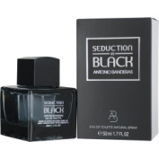 SEDUCTION IN BLACK by Antonio Banderas for MEN