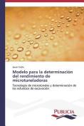 Modelo Para La Determinacion del Rendimiento de Microtuneladoras [Spanish]