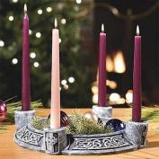 Celtic Advent Wreath - Stone Look